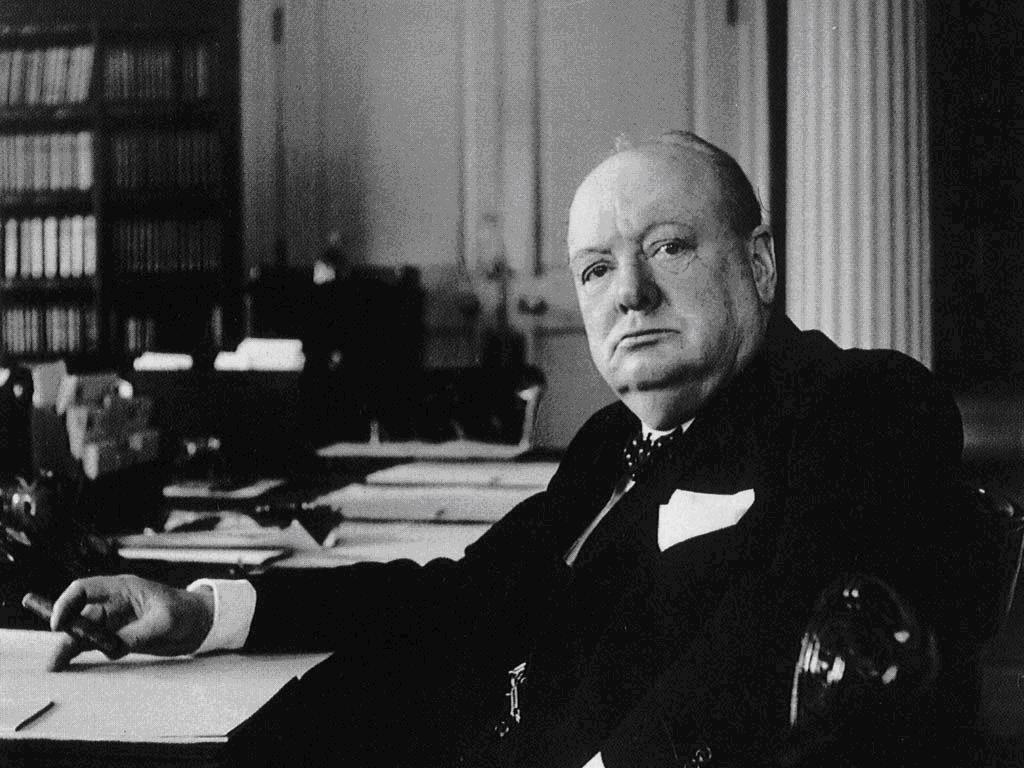 Citaten Churchill : One liners alle oneliners op een rijtje